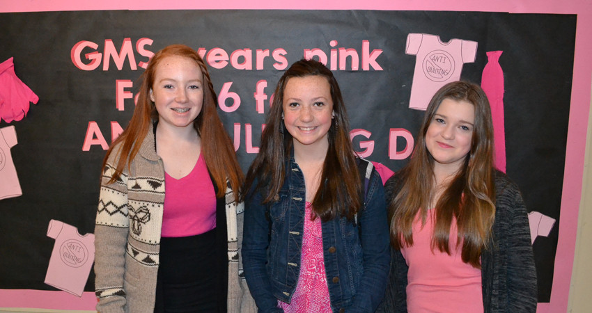 Standing Up (& Looking Great!) on Pink Day